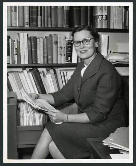 Dr. Katherine Fischer Drew, editor, Rice University Studies