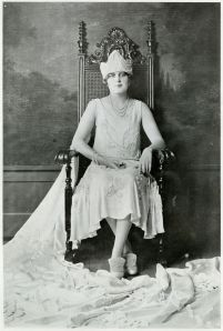 Allie May Autry crowned May Fete queen 1925