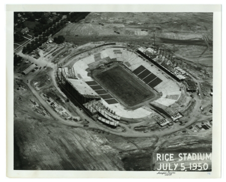 Rice Stadium Construction