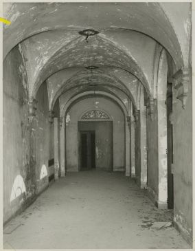 Jim West Mansion - Corridor with Arched Ceiling