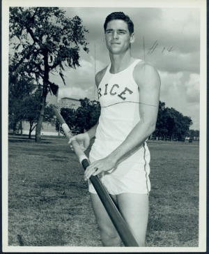 Fred Hansen, Gold Medal in the Pole Vault, 1964 Olympics