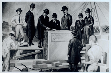 Laying the Cornerstone