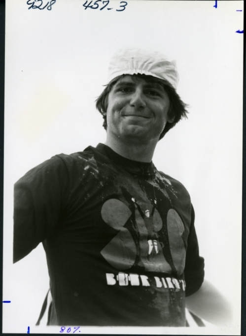Sid Richardson College Beer Bike Team Member, Keith Chappel, 1985