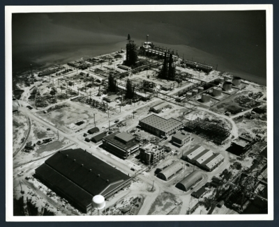 Texas City disaster area, pre-explosion photographs, 1947