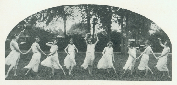 May Fete dancers, 1923