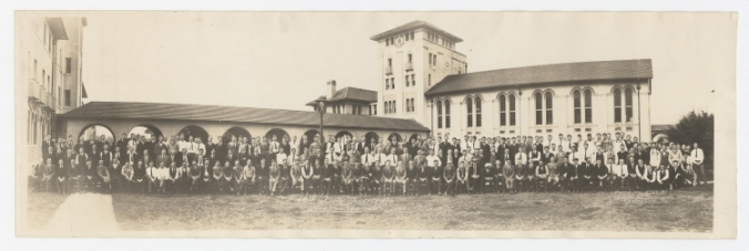 Men of Rice Institute, group photograph, 1922