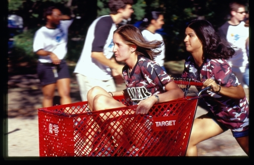 O-Week Baker Women Mock Beer Bike Race, 2001