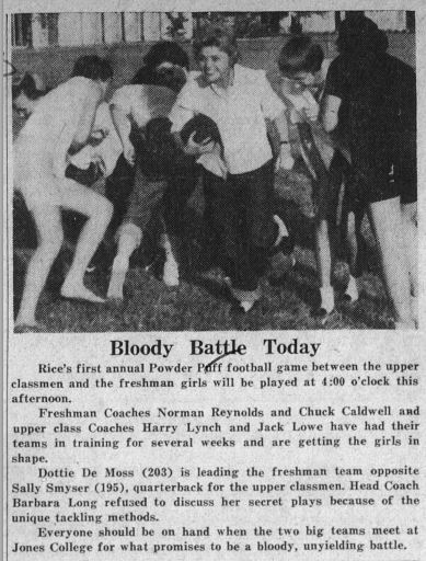 """Bloody Battle Today,"" Thresher article, October 30, 1959"
