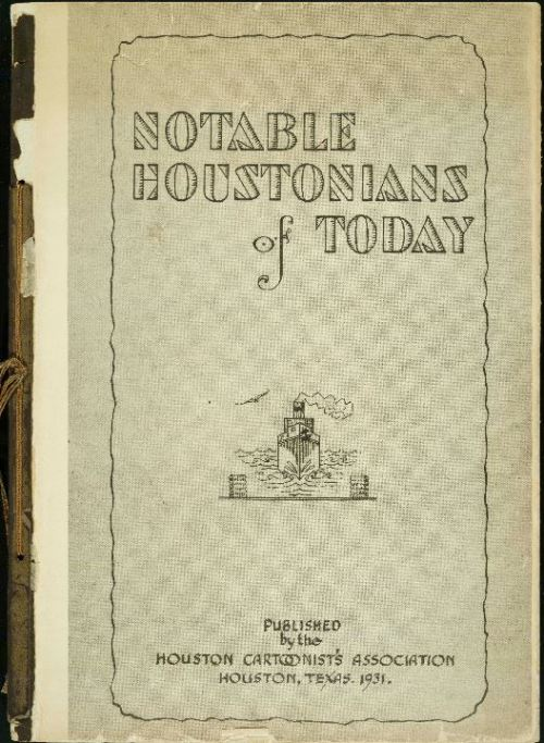 Notable Houstonians of Today,  1931