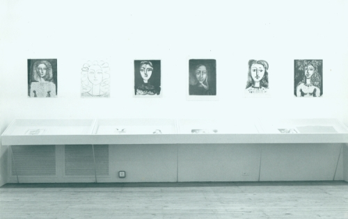 Picasso Women exhibit, 1974