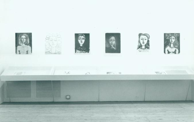 Picasso Women exhibit, 1974