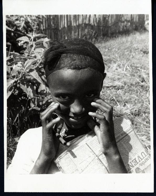 Abyssinian Girl, Ethiopia, 1961