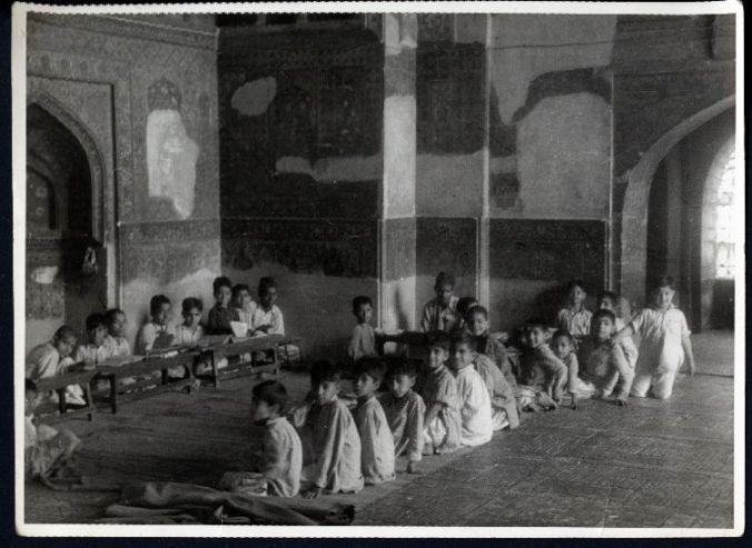 Koranic school, Lahore, Pakistan, ca. 1950