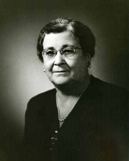 Ella Fondren, along with her husband Walter, provided the resources for the library.