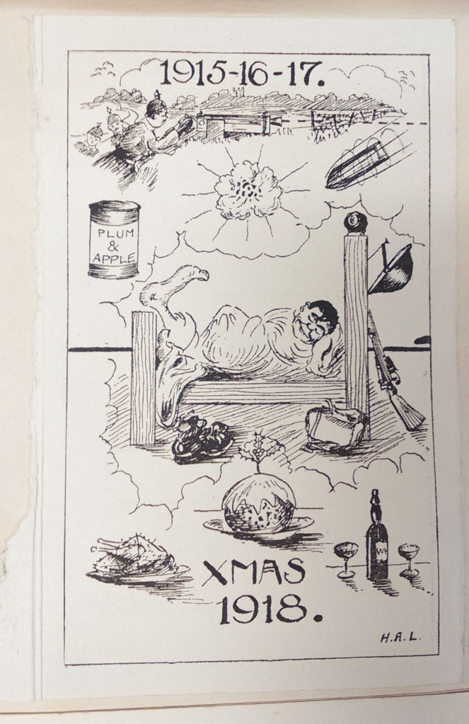 The Christmas dreams of a soldier, 1918