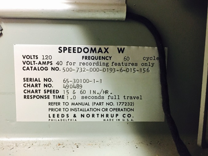 Speedomax, Manufacturers Information