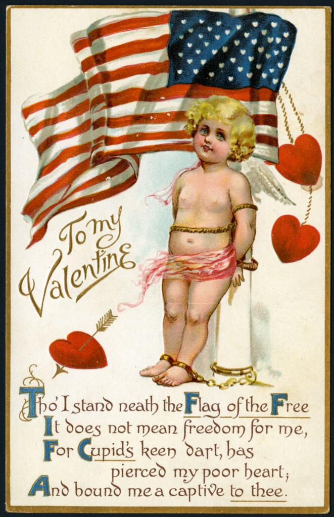 Patriotic cupid