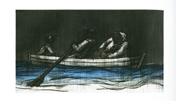 John Wilson Etching, Plate 1