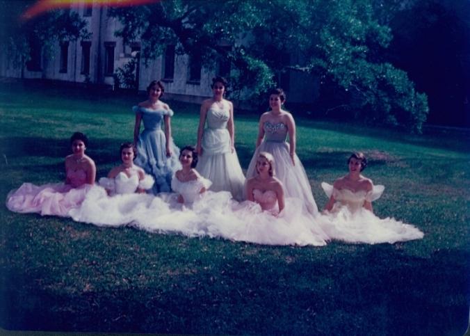 Rondolet Freshmen Court, 1955