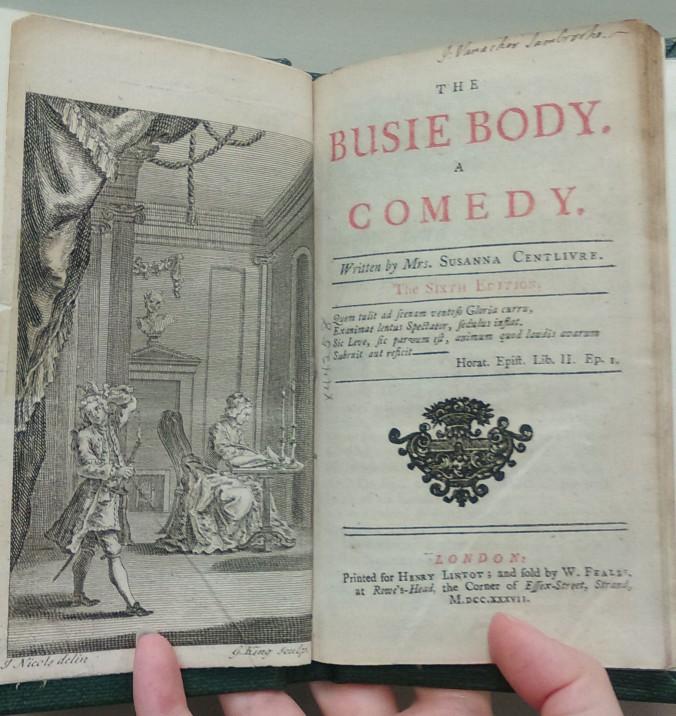 6th edition, 1737