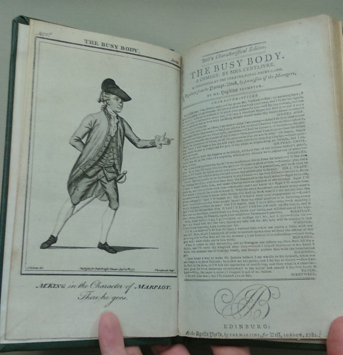 Bell's Characteristical edition, 1782