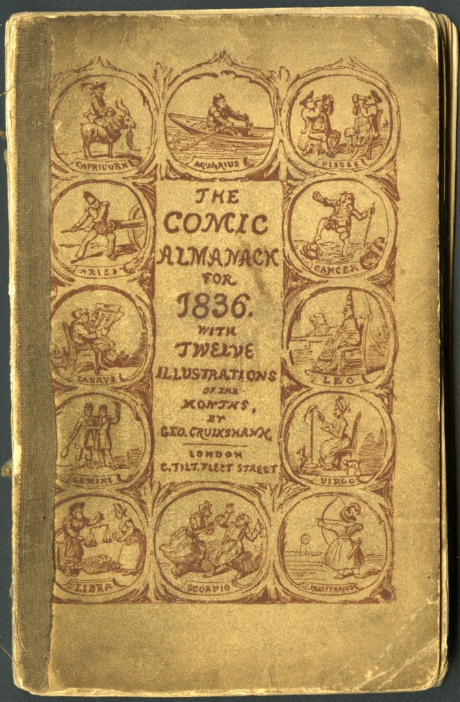 The Comic Almanack fro 1836, cover