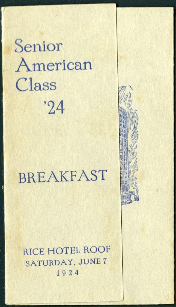 Senior American Breakfast cover