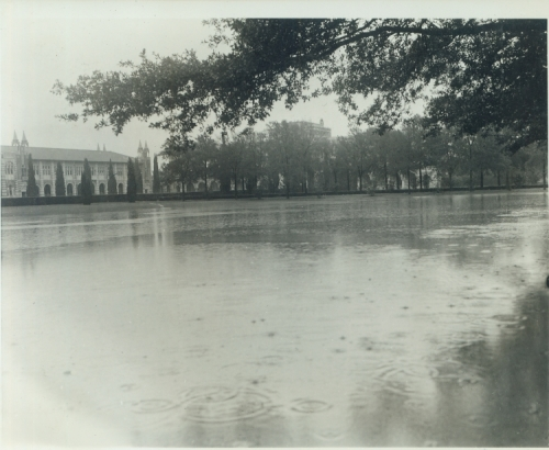 Flooded Academic Quad, 1941