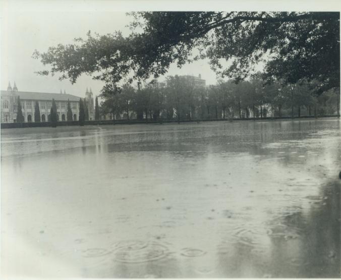Flooded Academic Quad, 1941