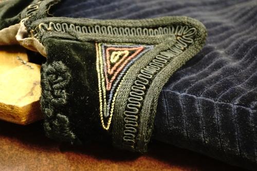 Back of collar detail
