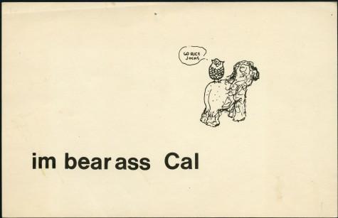 im bear ass Cal