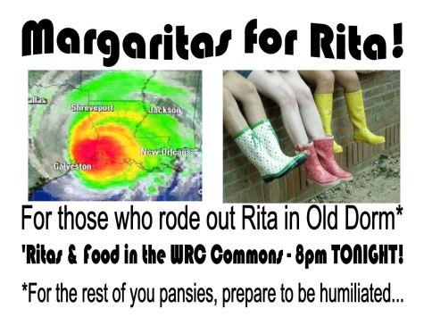 Margaritas for Rita