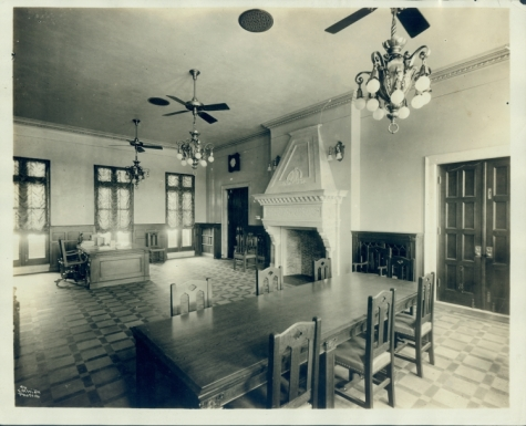 Dr. Edgar Odell Lovett's presidential office, 1912
