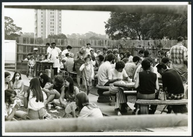 Intramural Sports Picnic, April 29, 1971
