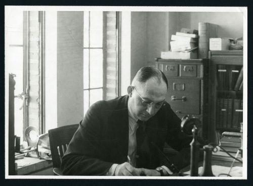 Dr. Lewis Ryon, 1937
