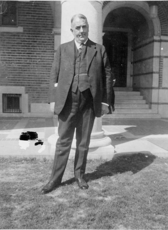 Dr. Stockton Axson, Rice Institute, 1921