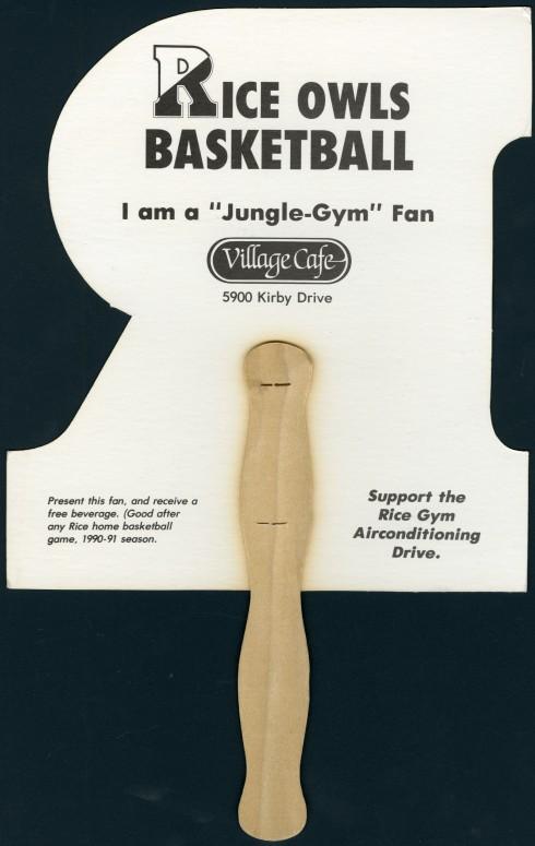 """""""Jungle Gym"""" fan back"""
