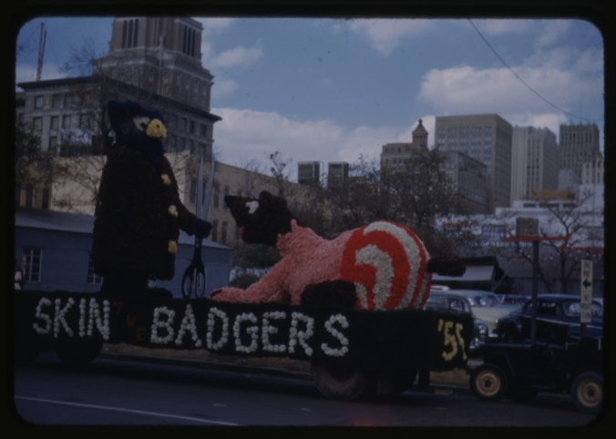 This 1952 sophomore float is one part gruesome and one part awesome.