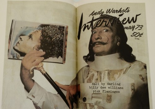 May 1973 cover with Salvador Dali