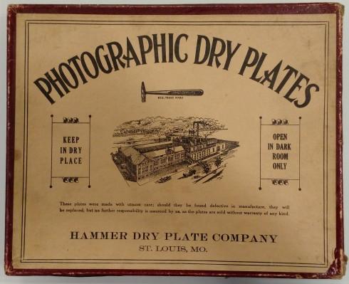 Hammer Dry Plate Company box