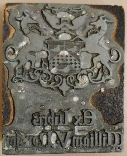 William V. Houston book plate