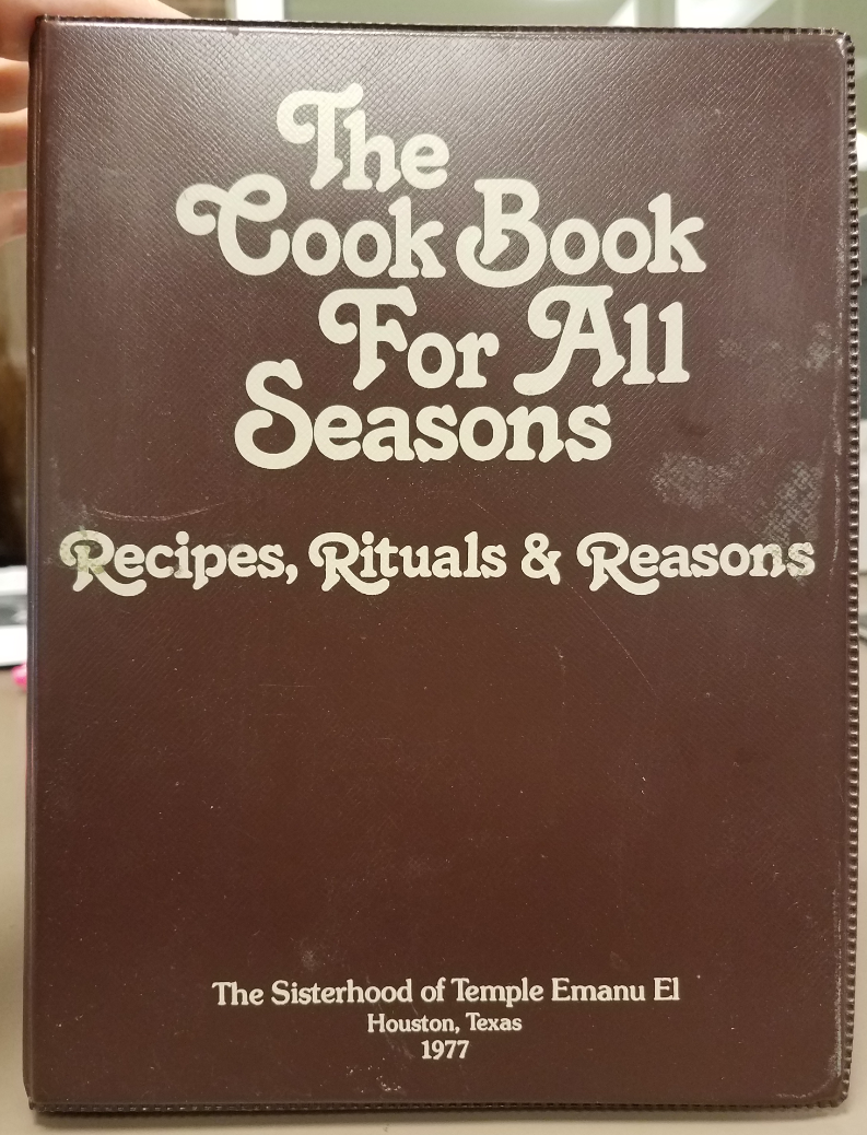 The Cook Book For All Seasons