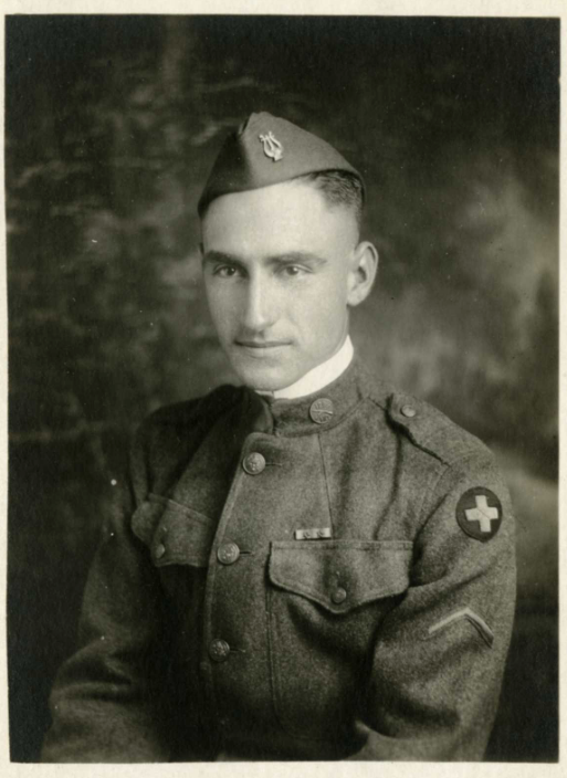 Paul B. Hendrickson in uniform