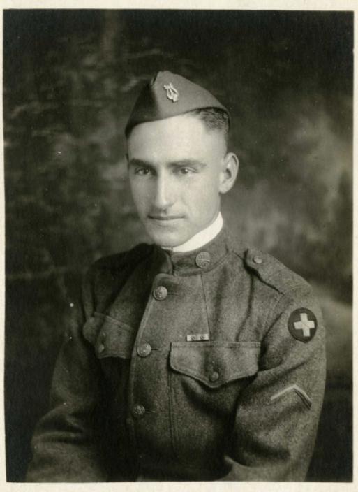 Paul B. Hendrickson in uniform