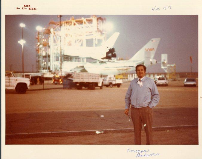 Norman Belasco in November 1977