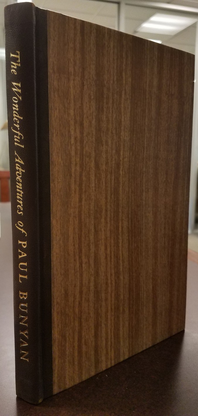 Cover and spine of book