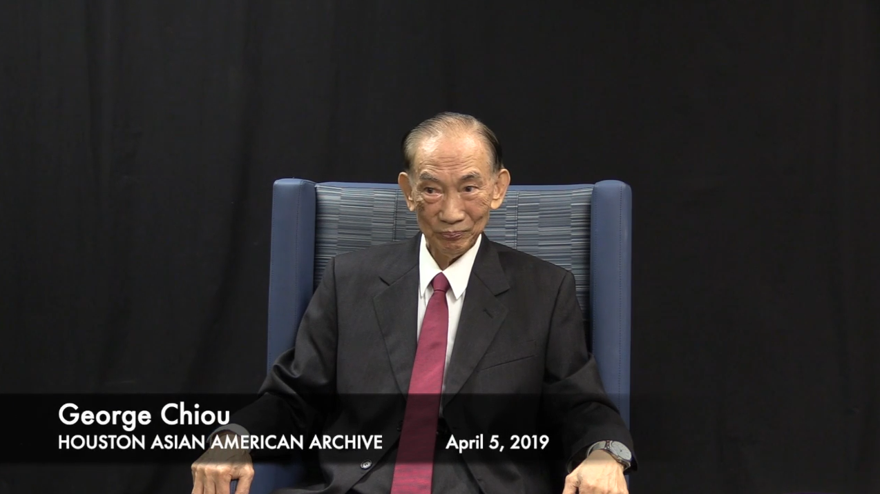 Screenshot of Dr. Chiou oral history