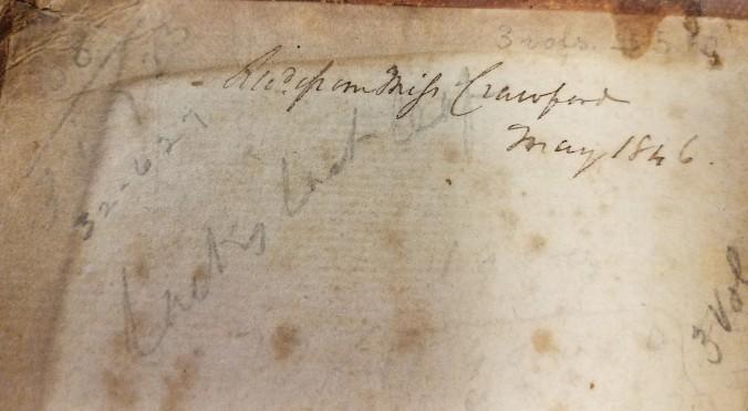 Mysterious signature