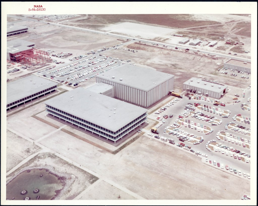 Aerial View of the Manned Spacecraft Center, 1966