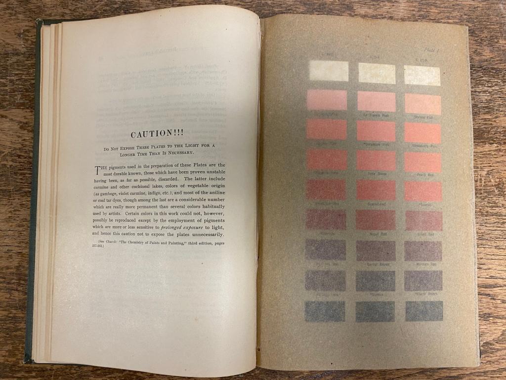 Inside of book
